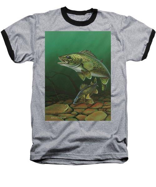 Walleye Baseball T-Shirt