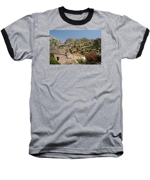 Walls Of Kotor Baseball T-Shirt