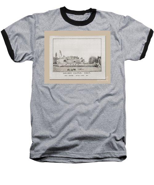 Walmer Castle Kent Baseball T-Shirt