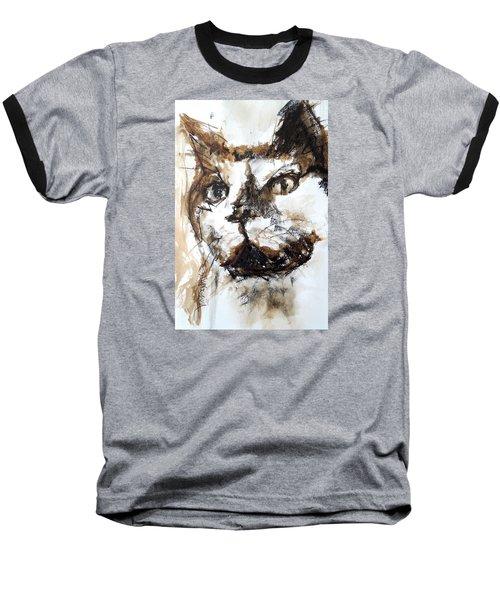 Walnut And Charcoal Baseball T-Shirt