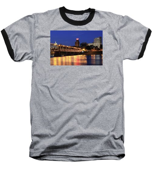 Walnut Street Bridge Baseball T-Shirt