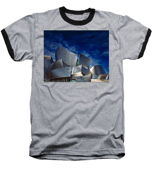 Walt Disney Concert Hall Baseball T-Shirt