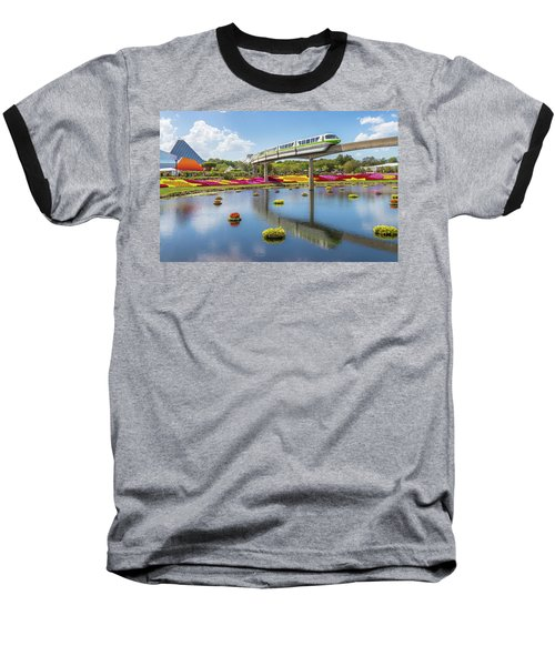 Walt Disney World Epcot Flower Festival Baseball T-Shirt
