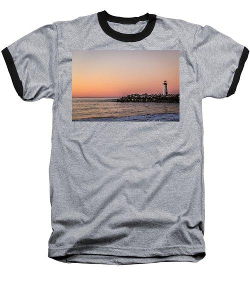 Baseball T-Shirt featuring the photograph Walton At Sunset by Lora Lee Chapman