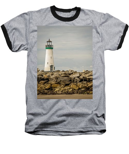 Walton Lighthouse Baseball T-Shirt by James Hammond