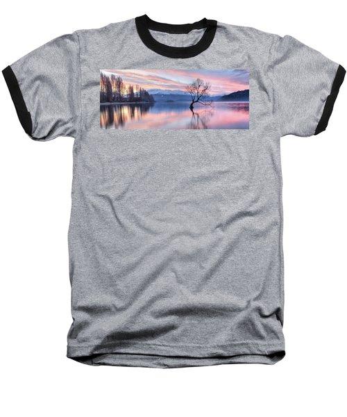 Wanaka Sunset Baseball T-Shirt