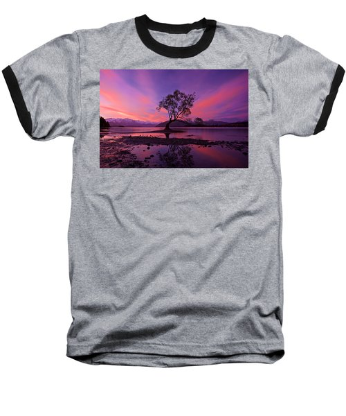Wanaka Tree Baseball T-Shirt