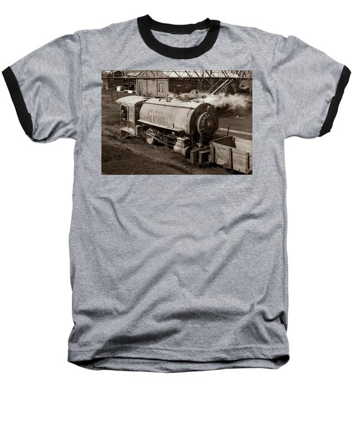Wanamie Pennsylvania Coal Mine Locomotive Lokey 1969... Baseball T-Shirt