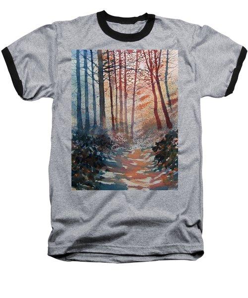 Wander In The Woods Baseball T-Shirt