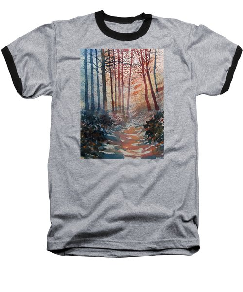 Wander In The Woods Baseball T-Shirt