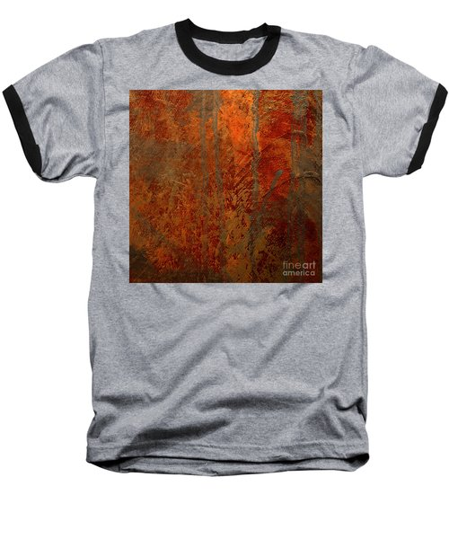 Baseball T-Shirt featuring the mixed media Wander by Michael Rock