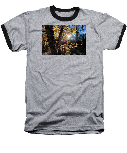 Baseball T-Shirt featuring the photograph Waning Autumn by Gary Kaylor