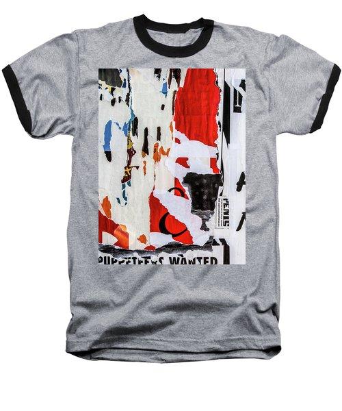 Wanted Baseball T-Shirt