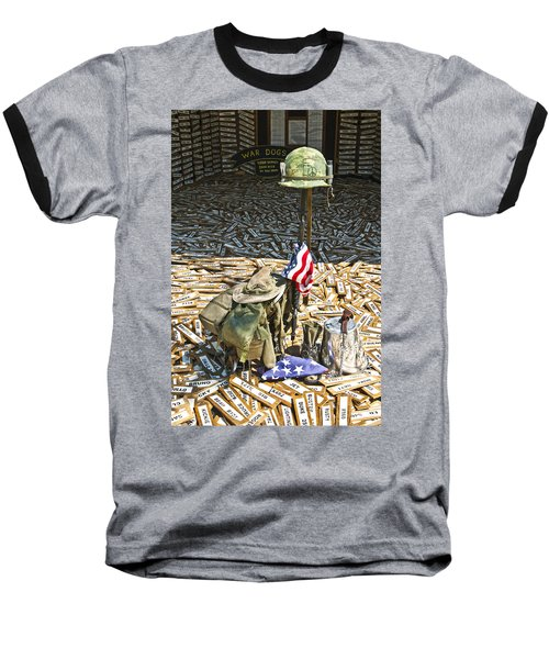 War Dogs Sacrifice Baseball T-Shirt