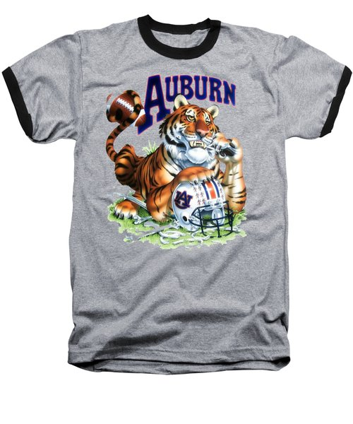 War Eagle  Baseball T-Shirt by Herb Strobino