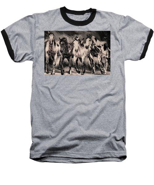 War Horses Baseball T-Shirt