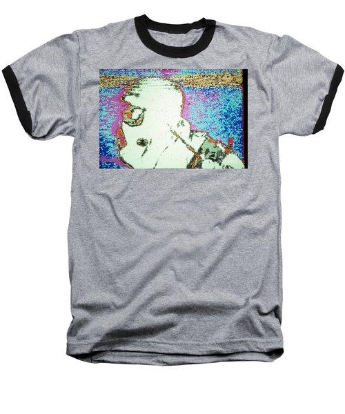 War Image White Baseball T-Shirt
