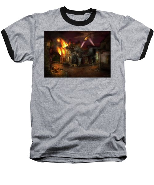 Baseball T-Shirt featuring the photograph War - Wwi - Not Fit For Man Or Beast 1910 by Mike Savad
