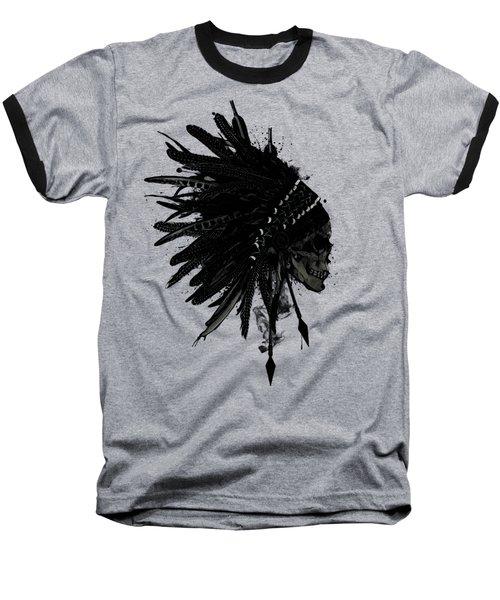 Warbonnet Skull Baseball T-Shirt
