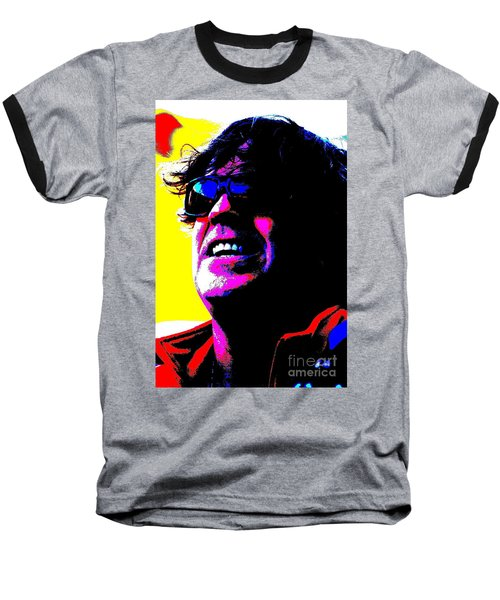 Warhol Robbie Baseball T-Shirt by Jesse Ciazza