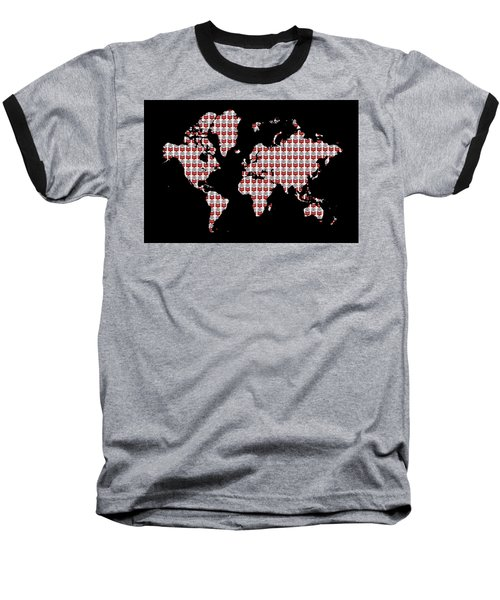 Warhol's World Baseball T-Shirt