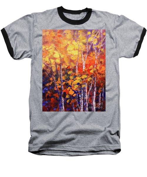 Warm Expressions Baseball T-Shirt by Tatiana Iliina