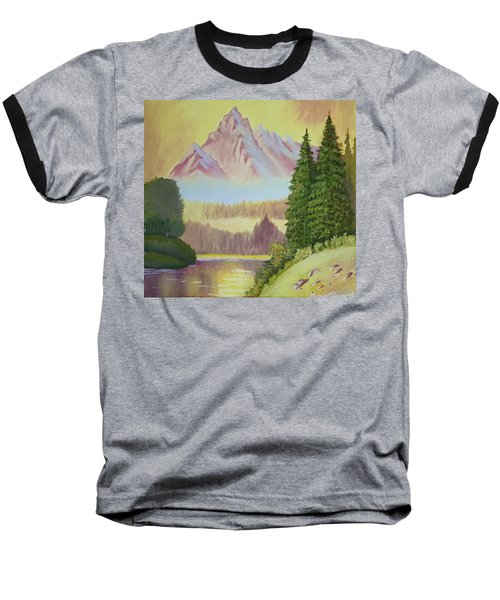 Warm Mountain Baseball T-Shirt