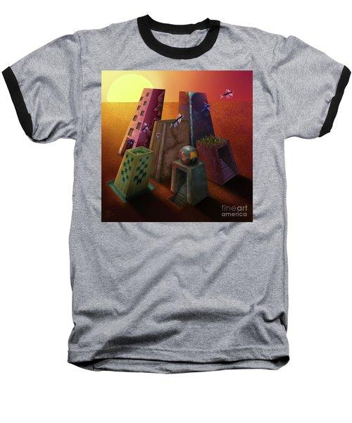 Warm Silence Baseball T-Shirt