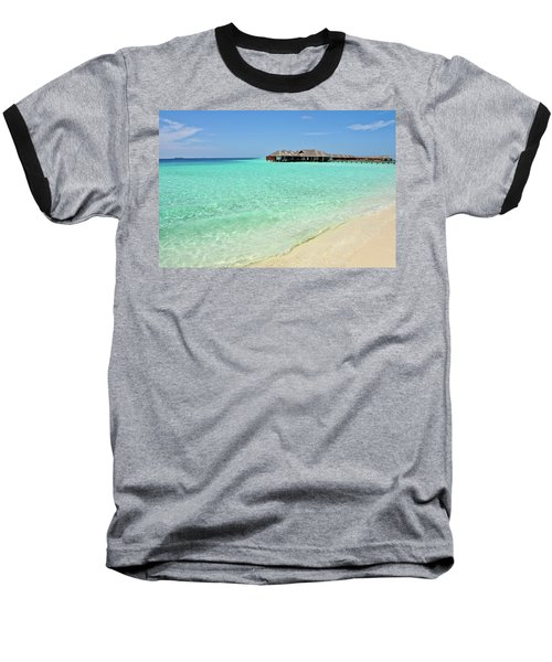Warm Welcoming. Maldives Baseball T-Shirt