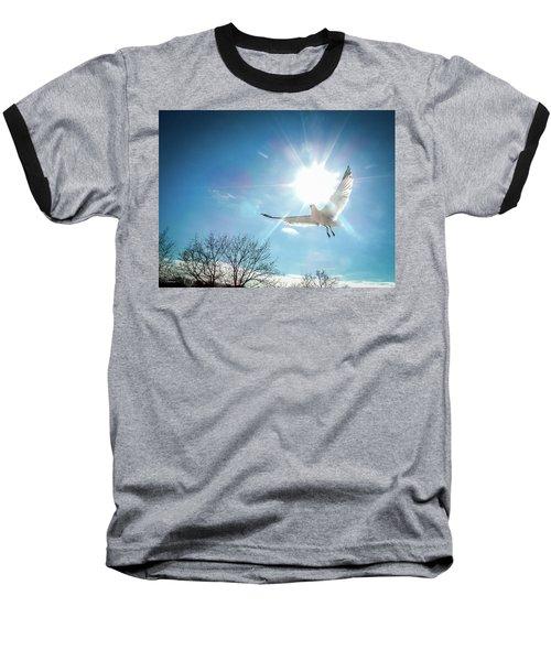 Warmed Wings Baseball T-Shirt
