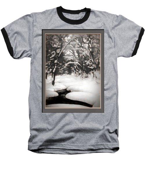Warmth Of A Winter Day Baseball T-Shirt