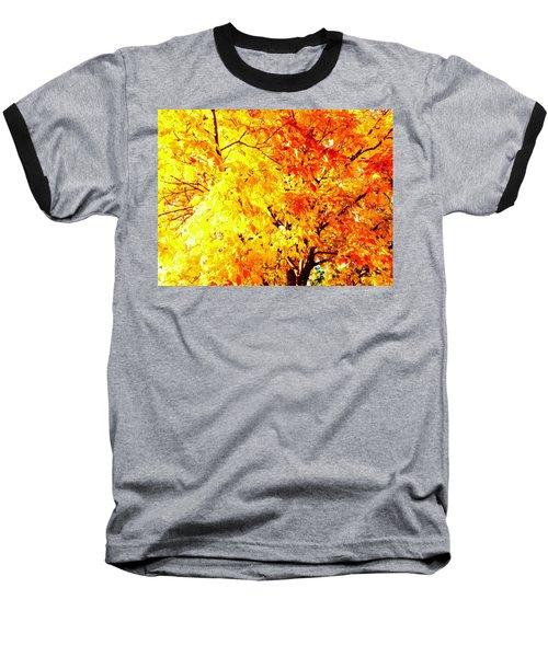 Warmth Of Fall Baseball T-Shirt