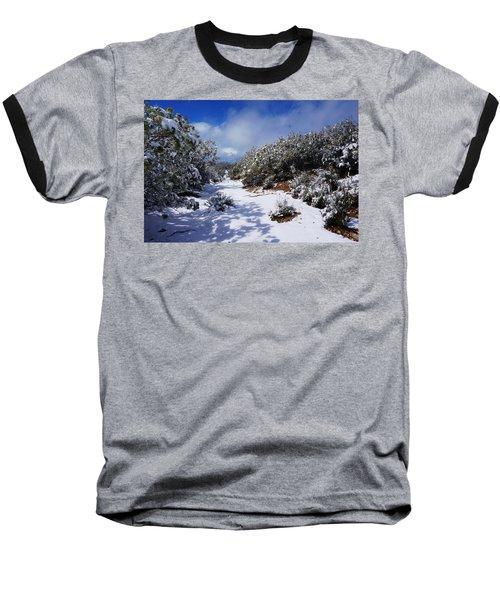 Warner Springs Snow Baseball T-Shirt