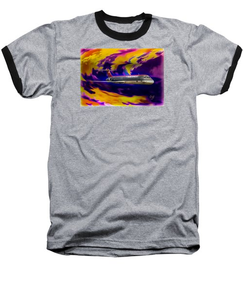 Warp 7 Baseball T-Shirt by J Griff Griffin