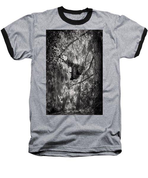 Warp Of Life Bw Baseball T-Shirt