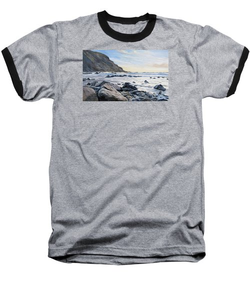 Warren Point Sunset Duckpool Baseball T-Shirt