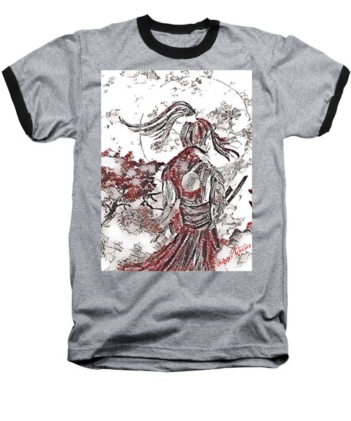 Warrior Moon Anime Baseball T-Shirt