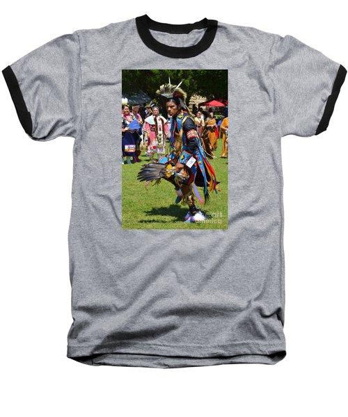 Warriors Dance Baseball T-Shirt by Lew Davis