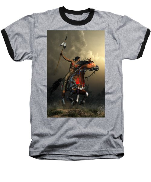 Warriors Of The Plains Baseball T-Shirt
