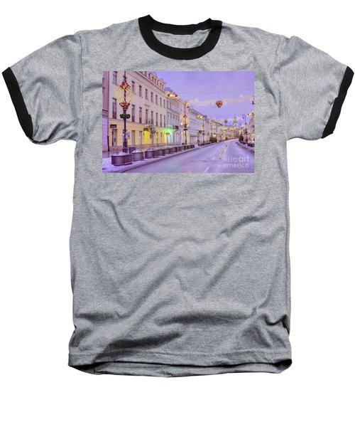 Baseball T-Shirt featuring the photograph Warsaw by Juli Scalzi