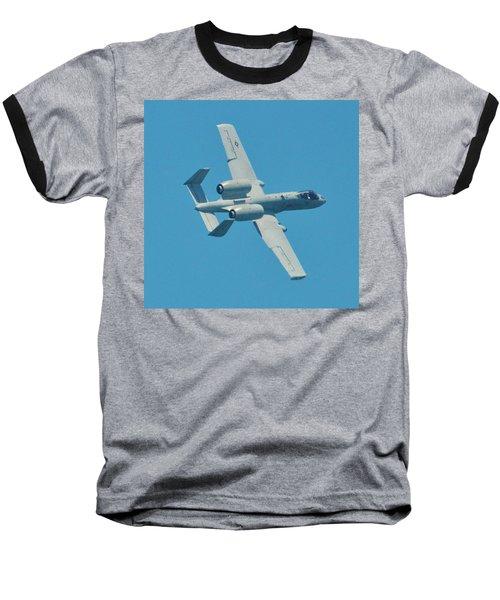 Warthog A 10 Tank Killer Baseball T-Shirt