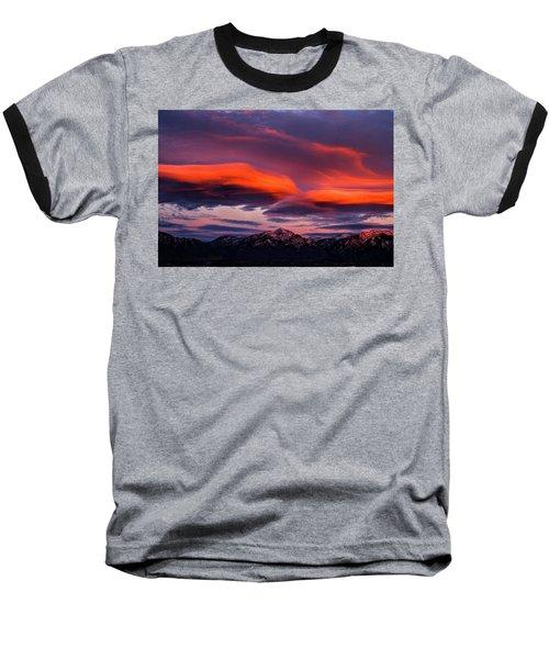 Wasatch Sunrise II Baseball T-Shirt