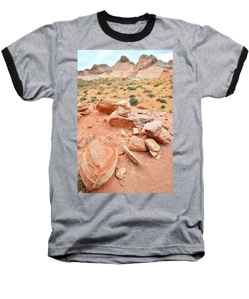 Baseball T-Shirt featuring the photograph Wash 4 In Valley Of Fire by Ray Mathis