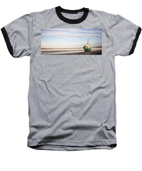 Washed Ashore Baseball T-Shirt by Jon Glaser