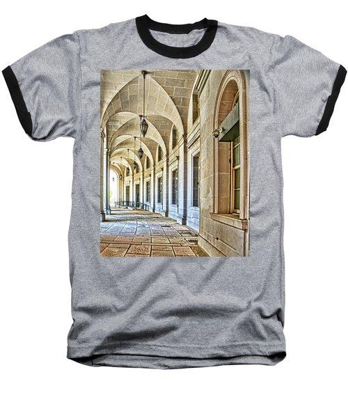 Washington D.c. Architecture Baseball T-Shirt