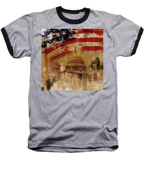 Washington Dc Baseball T-Shirt by Gull G