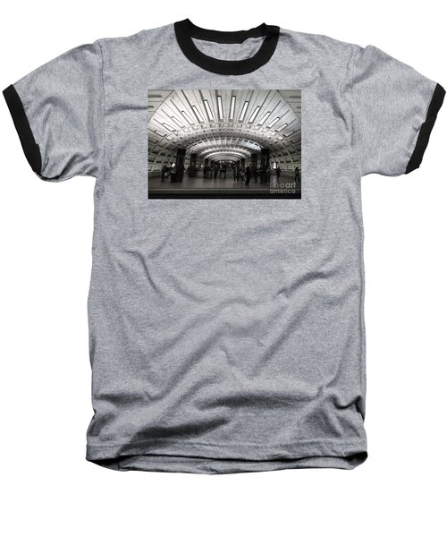 Washington Dc Metro Metro Center Stop Baseball T-Shirt