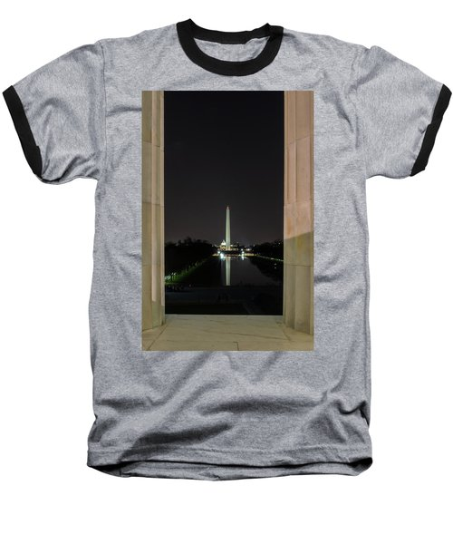 Washington Monument 2 Baseball T-Shirt