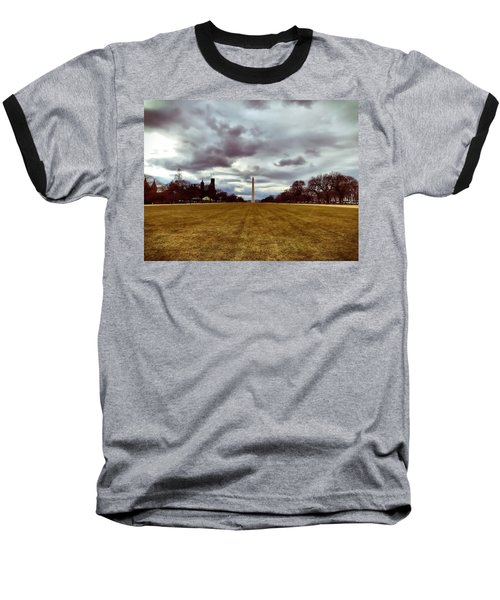 Washington Monument Baseball T-Shirt