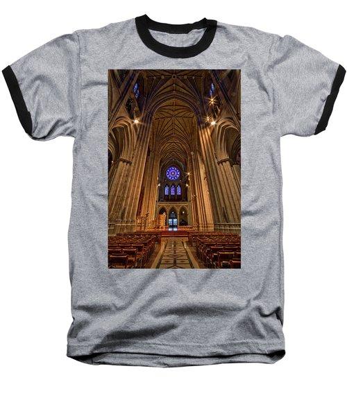 Washington National Cathedral Crossing Baseball T-Shirt